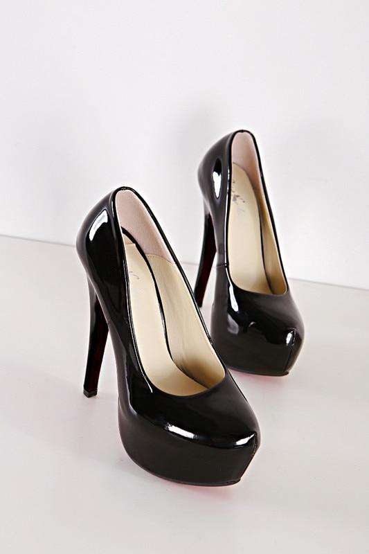 15cm bling kõrge kontsaga kingad platvorm naiste kingad seksikas suur suurus õhuke kontsad kõrged kontsad 5 - 15