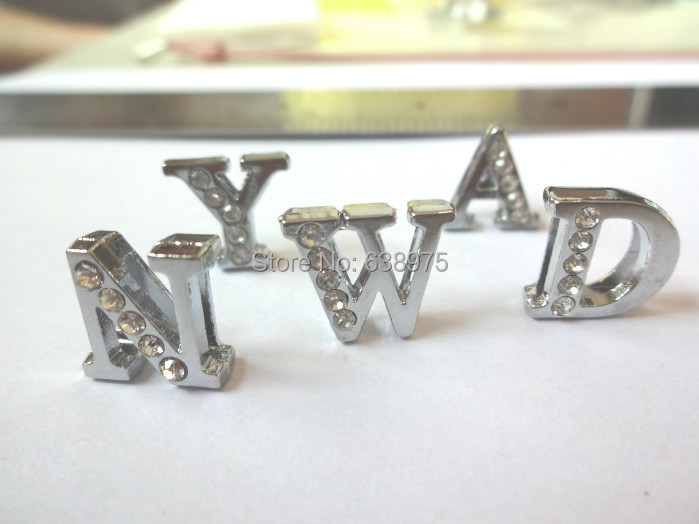 130 8mm DIY Charm Letters