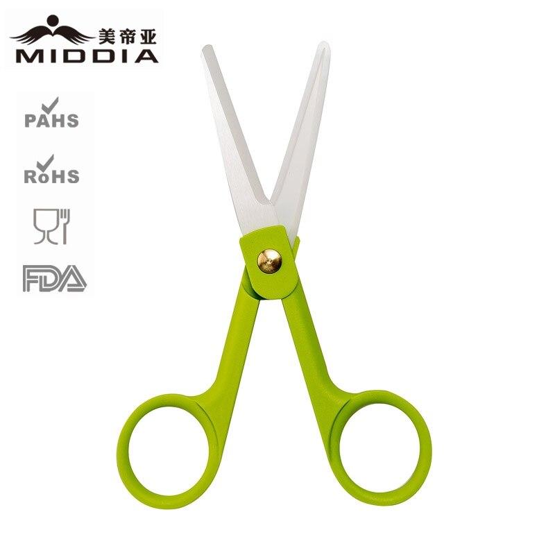Ceramic scissors with sheath baby food supplement scissors kitchen scissors food delicatessens antibiotic baby scissors