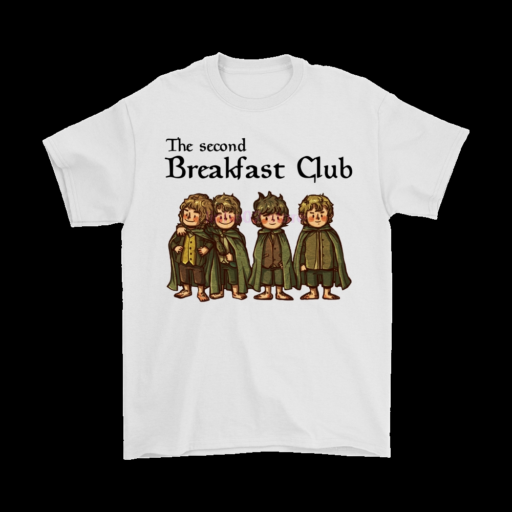 The Second Breakfast Club The Lord Of The Rings Shirts