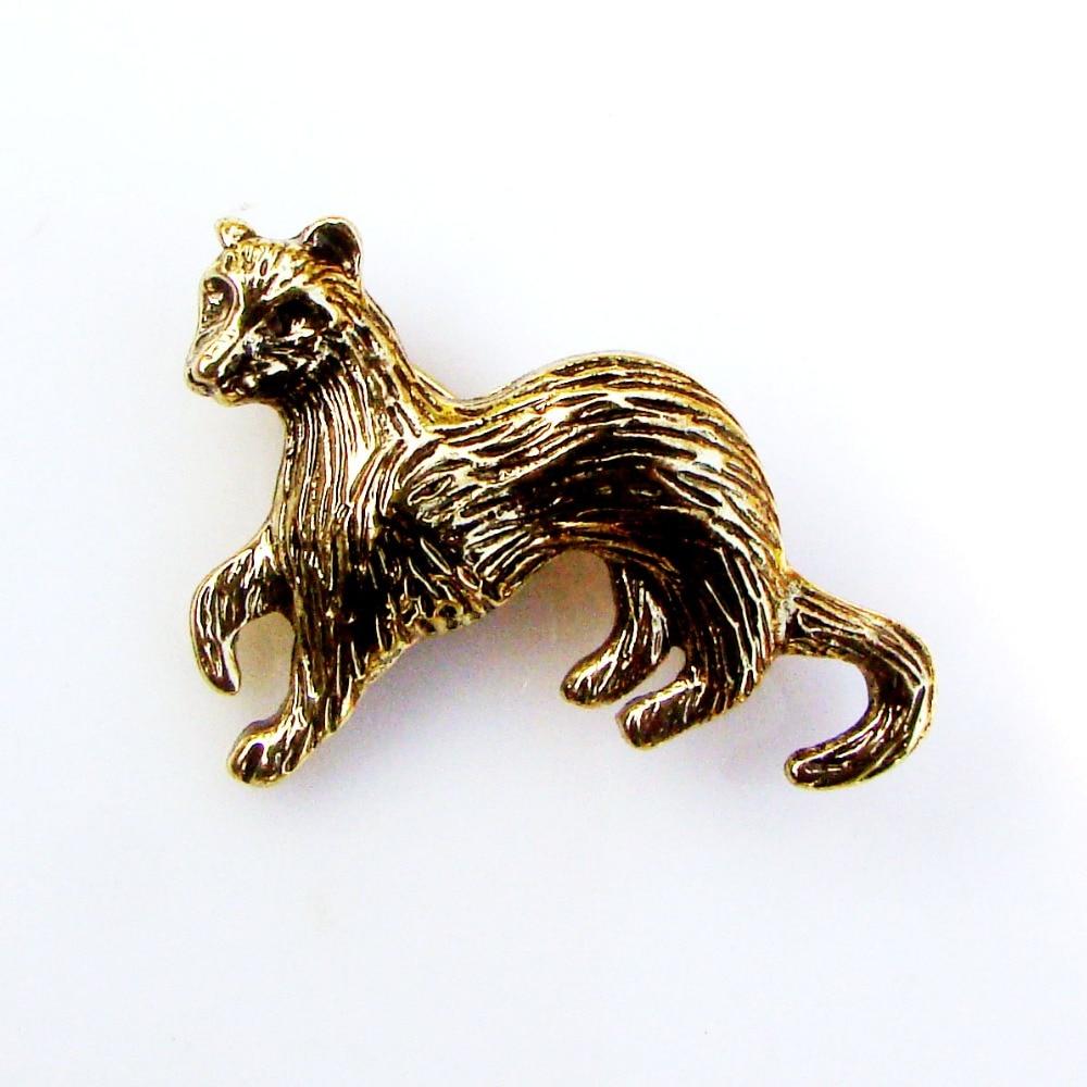Aliexpress.com : Buy Cute Vivid Metal Skunks Pin Brooch