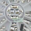 Atacado Clear Facetas Retângulo Quadrado Rebites Plana Voltar Acrílico Unhas Arte Decalques DIY Roda OFS Frete Grátis