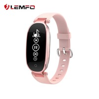 LEMFO S3 Smart Bracelet Fitness Tracker Passometer Heart Rate Monitor Fitness Tracker Band For IOS Android