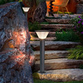 7 Вт Светодиодная подсветка для ландшафтного сада квадратный наружный светильник 40 см 60 см 80 см высокая Светодиодная лампа для газона