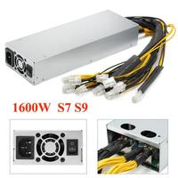 New Platinum 1600w 92% Mining Power Supply For Bitcoin Miner S7 S9 12.5T/13T/13.5T 18Mar27 Drop Ship