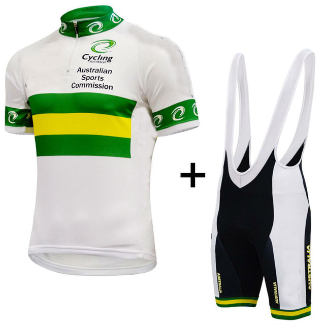 2018 Australian national cycling jersey road bike wear Bicycle Ropa Ciclismo  Sportswear Maillot Bicycle clothes Mtb afb8b2724