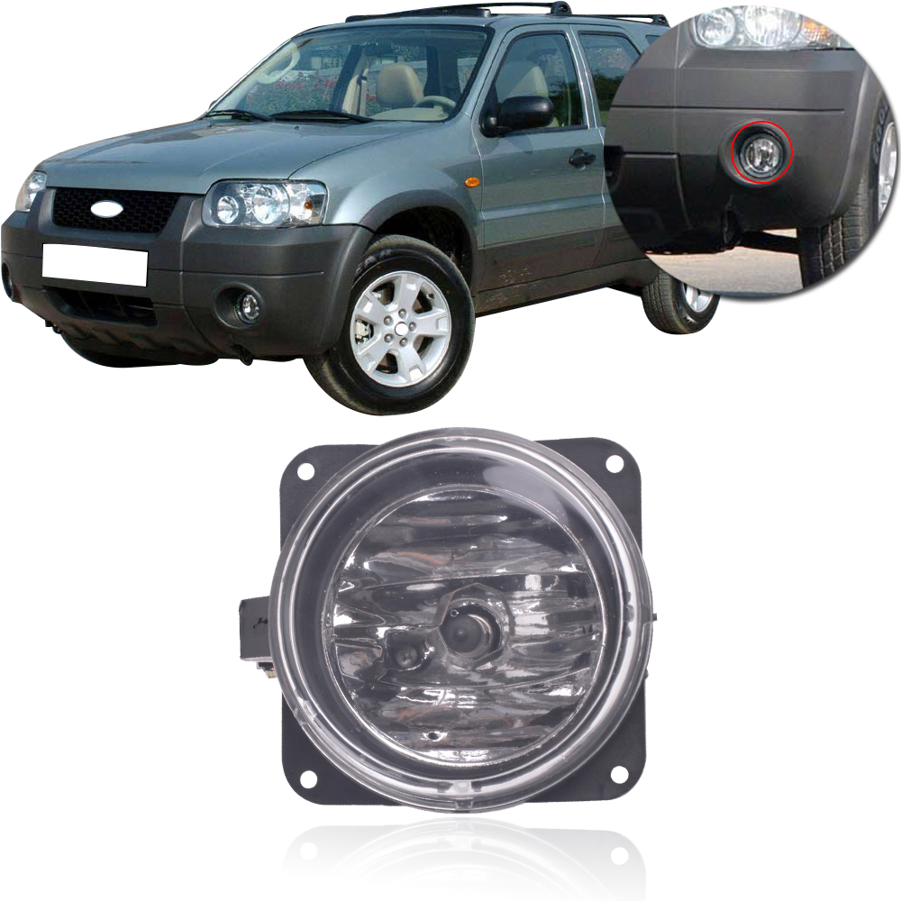 CAPQX For Ford Escape Kuga 2005 2006 2007 Front Bumper Fog Light Driving Lamp FogLight Replacement FogLamp