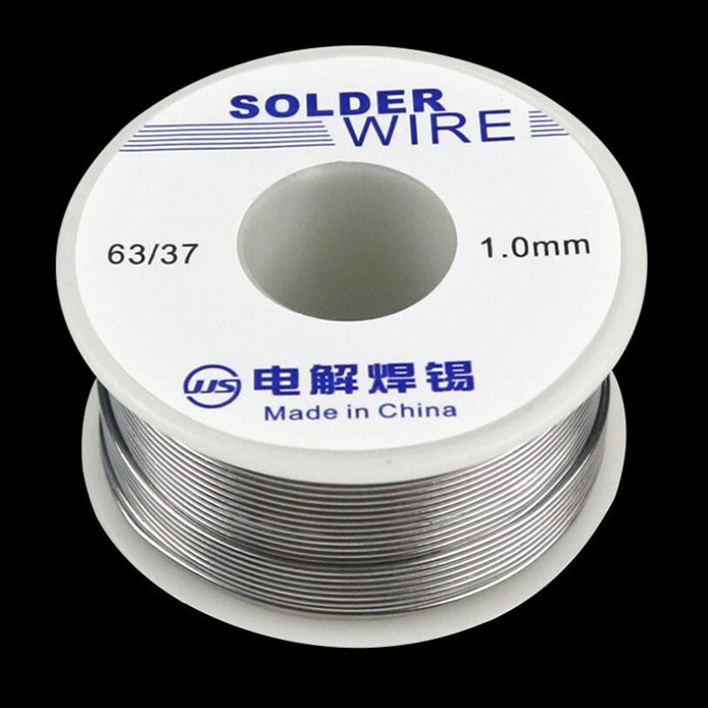 63/37  Solder Wire Solder FLUX 2.0%45 FT Tin-50g Lead Tin Wire Melted Rosin Core Coil -M25 Lead Solder For Soldering