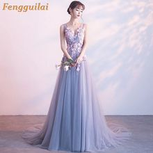 FENGGUILAI Luxury Summer Dress Women 2019 Sexy Elegant  V Neck Split Long Party Casual Boho Beach Ball Gown Maxi Dresses