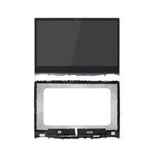 Ensemble d'écran tactile LCD 14 «1366×768 1920×1080 avec cadre pour Lenovo Ideapad Flex 6-14IKB 81EM000LUS 81EM000WUS 81EM000JUS