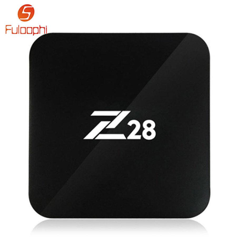 Fuloophi Z28 Android 7.1 TV Box RK3328 Quad Core 64Bit Smart Set Top Boxes 100M LAM H.265 4K 3D HD Media Player 2G+16G 1G+8G 5pcs android tv box tvip 410 412 box amlogic quad core 4gb android linux dual os smart tv box support h 265 airplay dlna 250 254