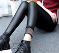 Faux Leather Leggings gothic Sexy High significantly thin elastic pants Pencil fitness Women Leggings Leggings Women Free Size