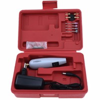 DC12V AC220V Mini Super Electric Drill Electric Grinder Set With Power Adapter