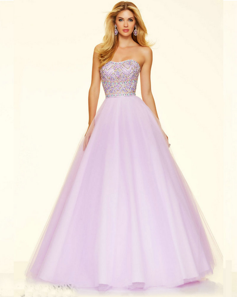 Online Buy Wholesale light purple prom dresses from China light ...