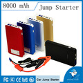 Fast Delivery Mini Portable Car Jump Starter 8000mAh12V Vehicle Engine Booster Charger Mobile Phone Power Bank