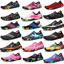 Beach Swimming Shoes Men And Women Rubber Soft Bottom Cotton Wading Lovers Movement Yoga Multipurpose Shoes taekwondo shoes coach shoes thicker soft bottom rubber bottom shoes adult men and women breathable martial arts shoes