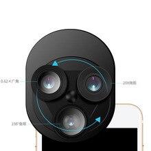 Внешний объектив для мобильного телефона широкоугольный Макросъемка эффект «рыбий глаз» объектив для мобильного телефона универсальный специальный эффект объектива камеры
