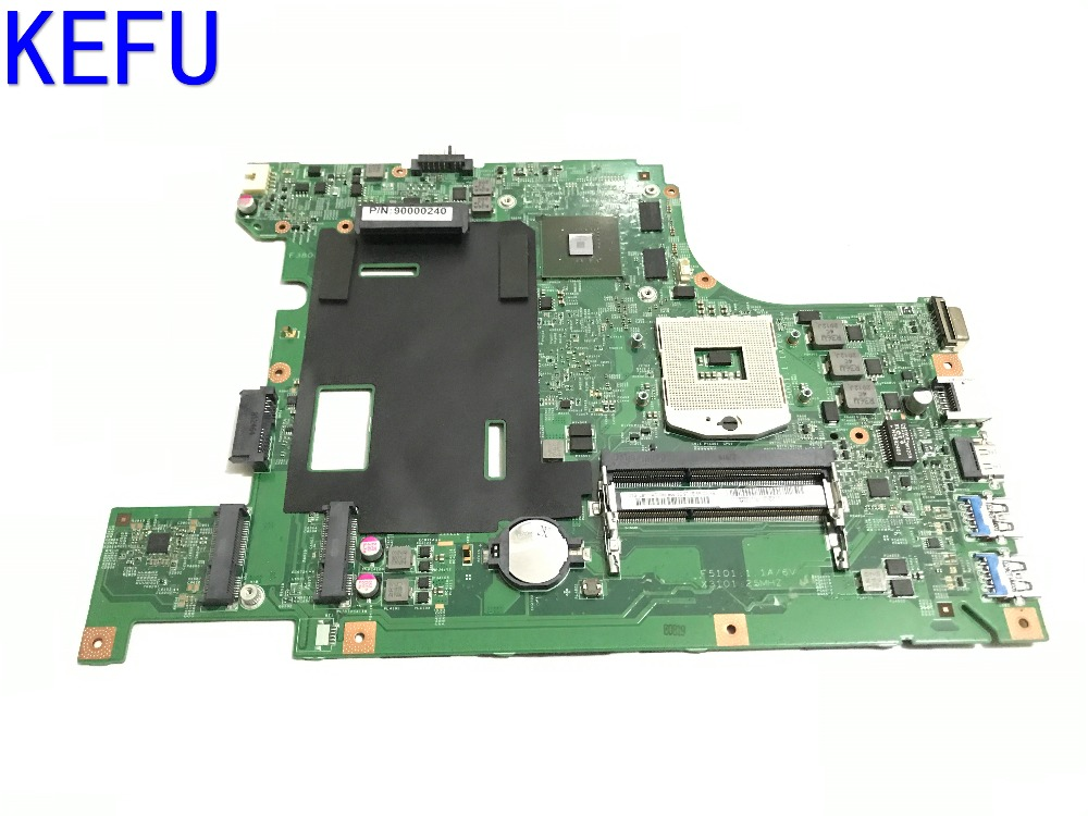 KEFU NEW LA58 MB 11273-1 48.4TE01.011 FREE SHIPPING laptop Motherboard For LENOVO B590 B580 NOTEBOOK PC VIDEO CHIP N13M-GE1-B-A1 free shipping for lenovo ideapad g585 notebook motherboard qawge la 8681p with ati video card one ram slot