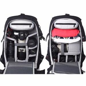 Image 5 - Mochila universal para câmera dslr fl 336, mochila para câmera digital canon/nikon câmera fotográfica para câmera