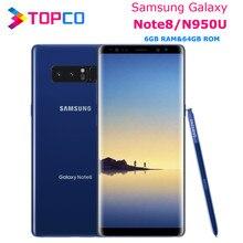 Samsung Galaxy Note8 not 8 N950U Unlocked 4G LTE Android telefon Octa çekirdek 6.3