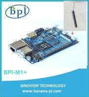 In stock! BPI-M1+ Banana Pi M1+ A20 Dual Core 1GB RAM on-board wifi singel-board computer SBC (NOT Banana Pro)+2DB Antenna