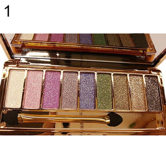 9 colors Fashion eyeshadow palette matte eyeshadow palette glitter eye shadow makeup nude makeup set Cosmetics dropshipping 5