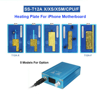 For iPhone X/XS/XS MAX  SS T12A iPhone Motherboard Separator Heating Station CPU IC Chips Disassembly Glue Remover Power Tool Sets Tools -