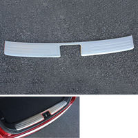 Rear Bumper Protector Step Panel Boot Protector Plate Cover Sill For IX35 2010 2011 2012 2013 2014 2015 Car Styling Car covers