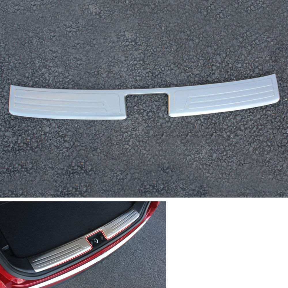Rear Bumper Protector Step Panel Boot Protector Plate Cover Sill For IX35 2010 2011 2012 2013 2014 2015 Car Styling Car-covers