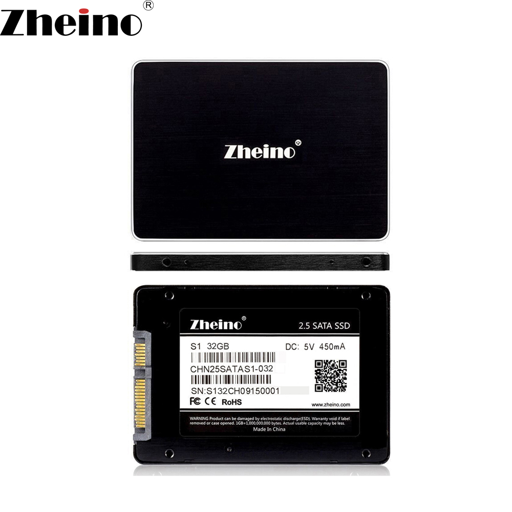 Zheino SATAIII 32GB SSD 2.5 inch 2D MLC Nand Flash SATA3 Internal Solid State Drive SSD For PC Laptop Desktop
