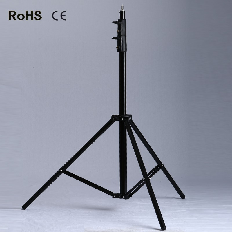 Photographic 2.8M Air Cushioned Light Stand With Included Adaptor To Support 1/4 Photo Equipment