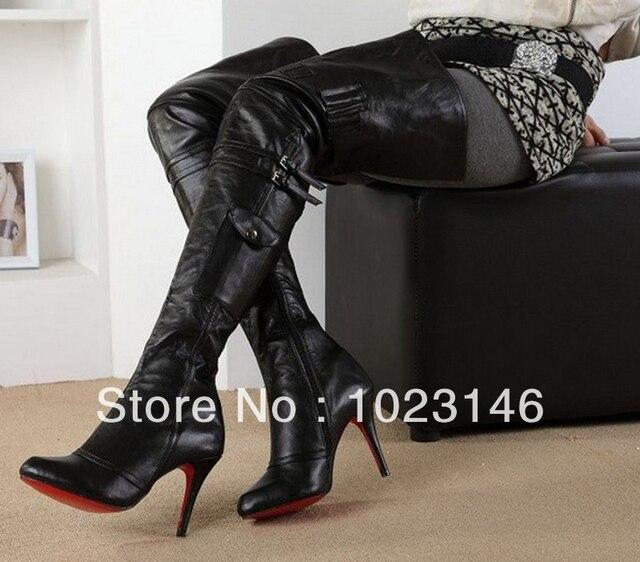 high boots thigh Lesbian