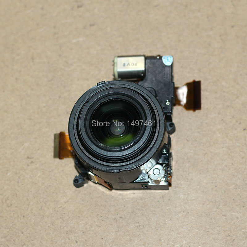 Black New Optical Zoom lens with CCD repair parts For Panasonic DMC-LX7 LX7 Digital camera original digital camera zoom lens accessories for canon ixus130 sd1400 ixy400 is pc1472 ixus 130 with ccd black