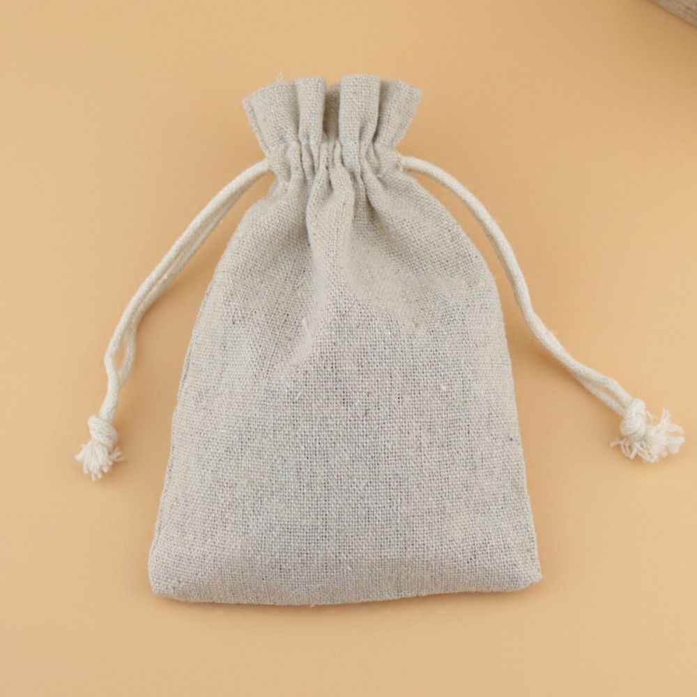 Handmade Saco de Cordão de Algodão Das Mulheres Dos Homens de Viagem Organizador Embalagem Reutilizável Presentes Bagagem Bolsa Feminina Bolsa De Armazenamento De Jóias