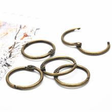 2 шт бронза с отрывными листами книги связующее навесное кольцо