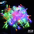 Christmas light Holiday  10m 100 LED string 8 Colors choice Red/green/RGB Fairy Lights Waterproof Party Christmas Garden light
