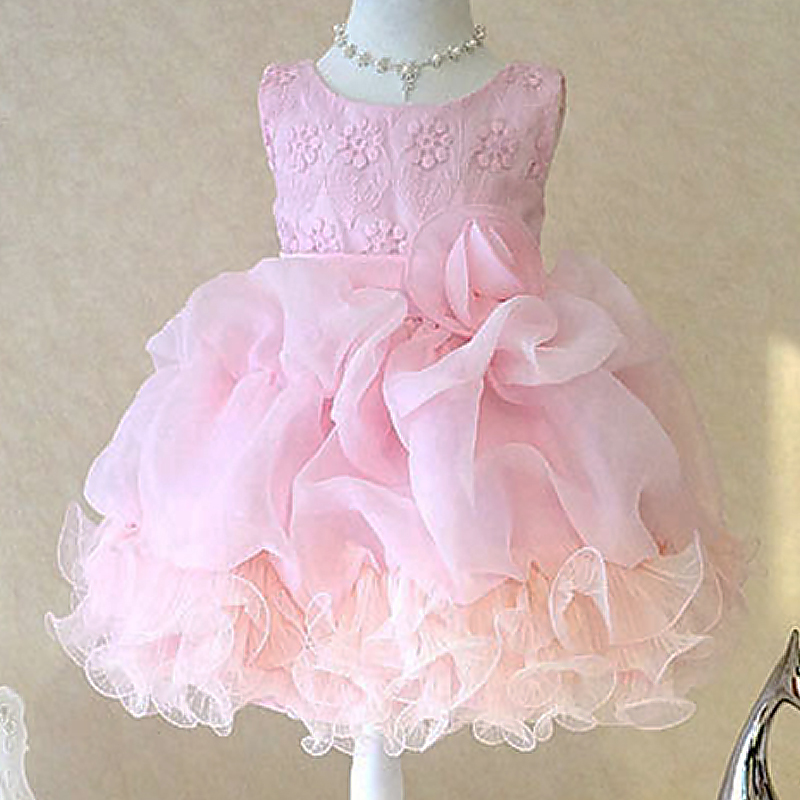 Aliexpress Buy New Girl Dresses Elegant Flowers Kids