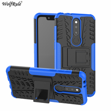 Phone Cases For Nokia X5 Case 5.86 Dual Layer Armor TPU+PC Shockproof Case For Nokia X5 2018 Nokia 5.1 Plus Cover For Nokia X5 аксессуар чехол для nokia 5 1 plus x5 2018 neypo soft matte dark blue nst6125