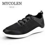 Mycolen熱い販売新ブランドの靴男性ファッションデザイナーカジュアルスニーカー人格青年レースアップフラットシューズzapatos hombre