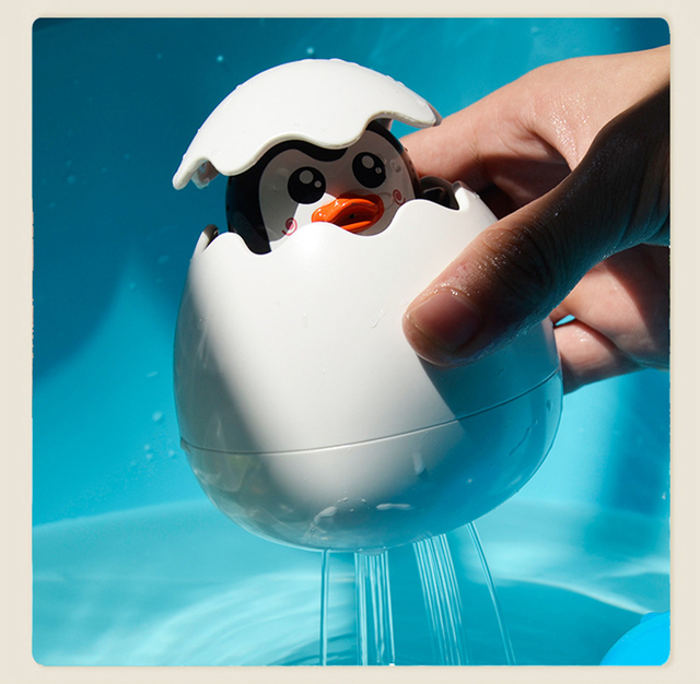 Baby Care Bath Spray Duck Penguin Water Spray Sprinkler Bathroom Prinkling Children Kids Funny Bathtub Baby Shower Accessories