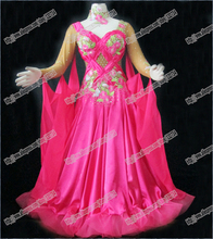 Modern Waltz Tango Ballroom Dance Dress, Smooth Ballroom Dress, Standard Ballroom Dress social dance clohting girl B-0348