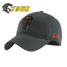88439cd6a688d TSNK Cotton Baseball Cap branded women men Tactical army caps Seals  Punisher American Sniper baseball hat