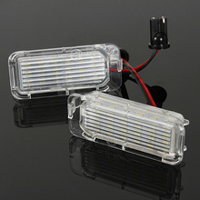 2 x Cars LED Number License Plate Light Bulb For Ford Fiesta
