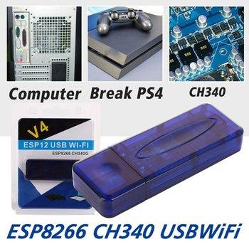 Для PS4 WiFi ESP8266 CH340 чип USB беспроводной модуль совместимый Nodemcu  для Arduino Горячий
