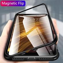 Metal Magnetic Case For Xiaomi Redmi K20 Note 7 pro 5 6 Pro