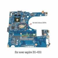 NOKOTION NBMK211002 NB.MK211.002 Mainboard For Acer aspire E1 432 Laptop Motherboard 48.4YP21.031 Pentium 2957U CPU DDR3