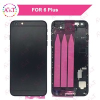 Black For IPhone 6 6G 6 Plus 6S 6S Plus Back Middle Frame Chassis Full Housing