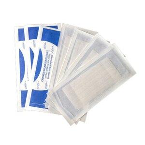 Image 1 - 2 упак./лот, 6*100 мм (10 полосок),12*100 мм (6 полосок), медицинская хирургическая клейкая лента, не требуется для швов