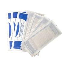 2 pacote/lote 6*100mm (10 tiras),12*100mm (6 tiras) fita cirúrgica médica fechamento de ferimento não precisa de sutura