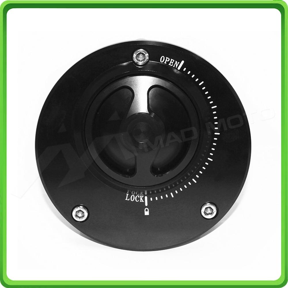 Nimble Quick Lock Fuel Cap / Gas Tank Cap - For Ducati 748 916 996 998 848 1098 1198 Monster 600 Black motorcycle cnc split riser clip on handle bars for ducati 748 749 916 996 998 999 848 1098 1198 black